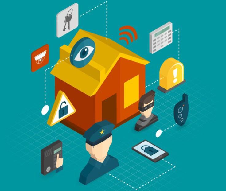 segurança residencial automatizada